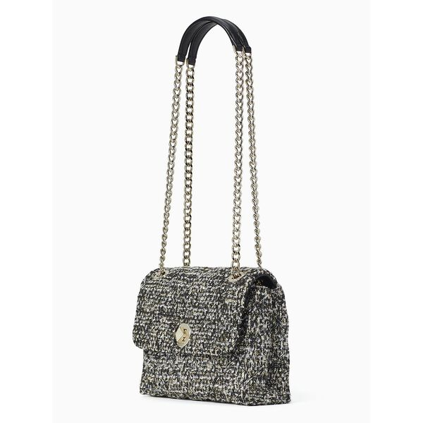 natalia tweed small flap crossbody, multi, hi-res