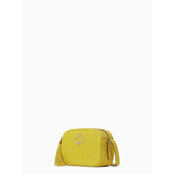 kourtney camera bag, chartreuse, hi-res