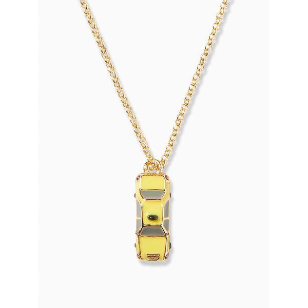 ma cherie taxi mini pendant, yellow multi, hi-res