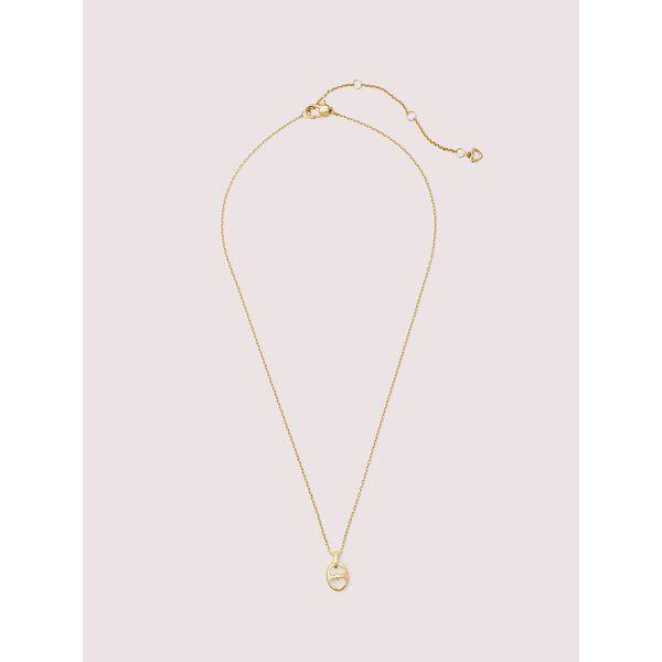 duo link mini pendant, GOLD, hi-res