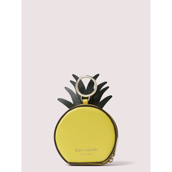 picnic pineapple coin purse, LIGHT BULB, hi-res