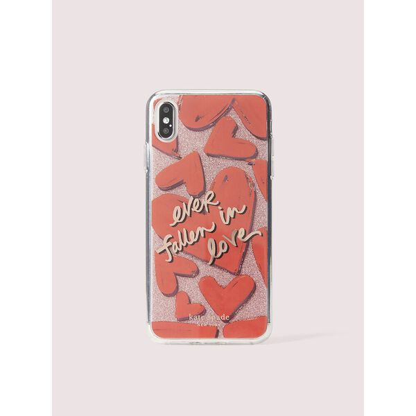 ever fallen in love iphone xs max case, Multi, hi-res