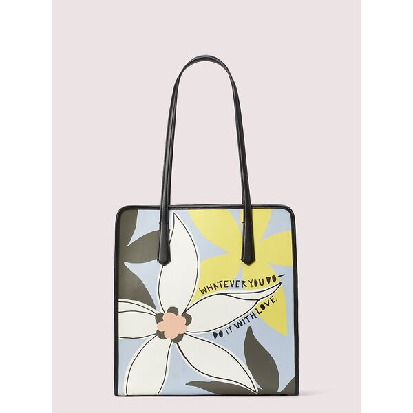 cleo wade x kate spade new york floral tote