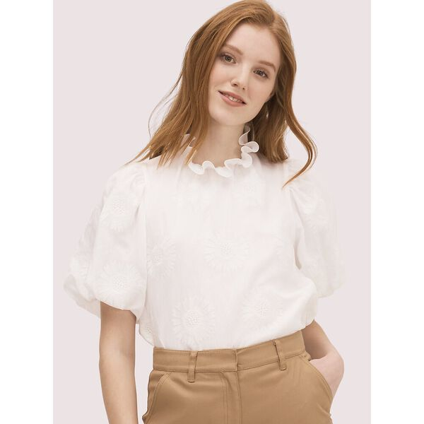 bloom organza top