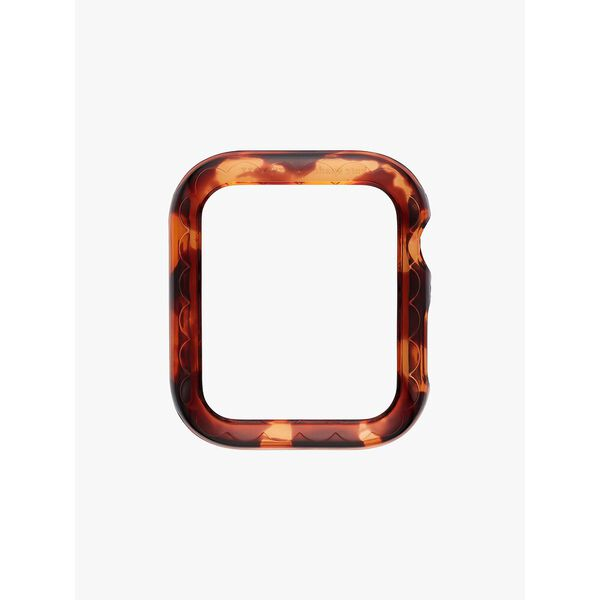 tortoiseshell acetate 38/40mm cover for apple watch®, brown, hi-res