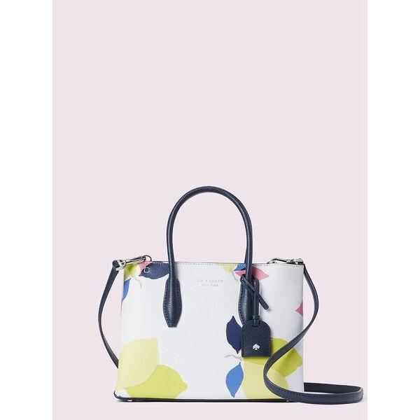 eva lemon zest small top zip satchel