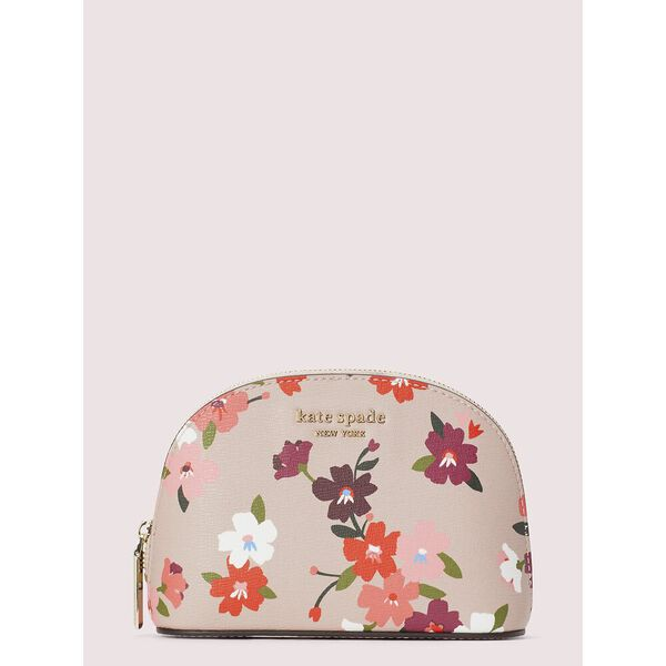 spencer cherry blossom small dome cosmetic case