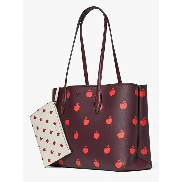 all day apple toss large tote, multi, hi-res