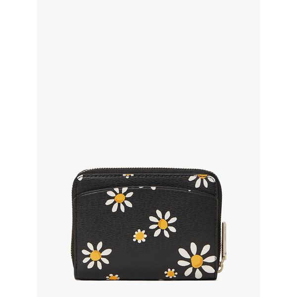 spencer daisy dots small compact wallet, black multi, hi-res