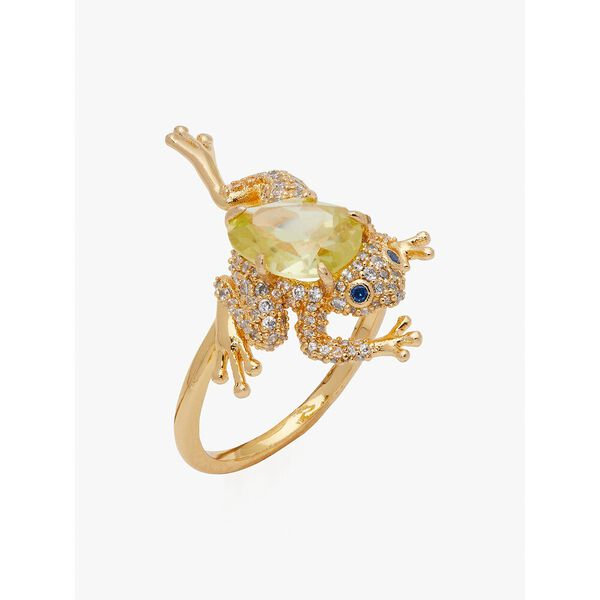 nature walk frog ring