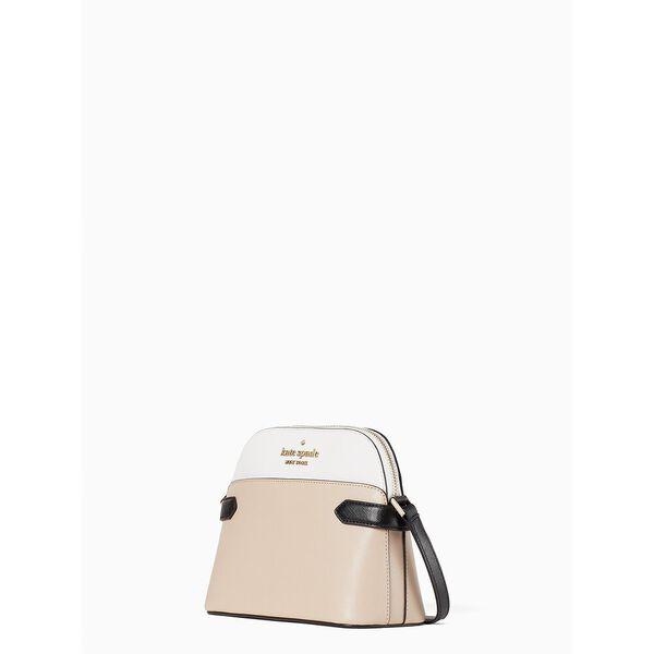 staci colorblock dome crossbody, warm beige multi, hi-res