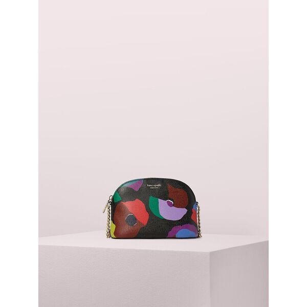 spencer floral collage small dome crossbody
