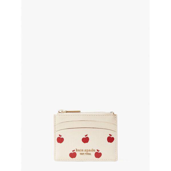 spencer apple toss coin cardholder