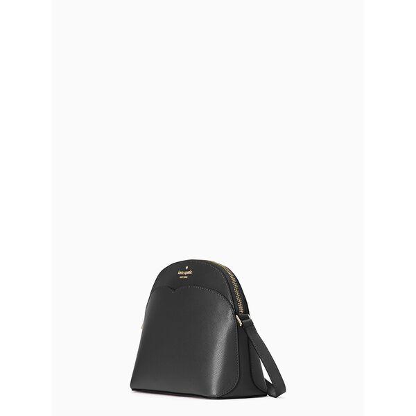 payton dome crossbody, black, hi-res