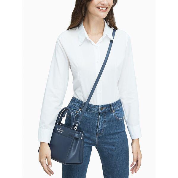 staci small satchel, nightcap, hi-res