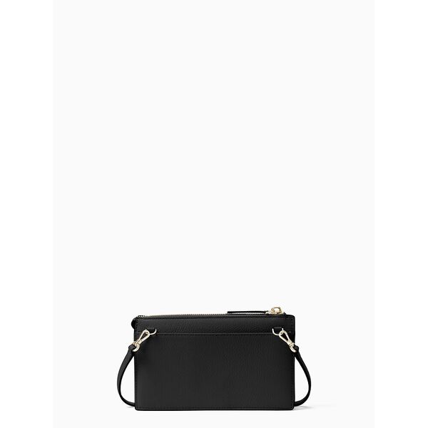jackson small tab crossbody, black, hi-res