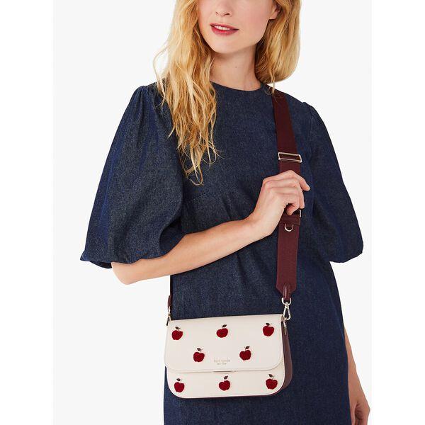 buddie apple toss medium shoulder bag, multi, hi-res
