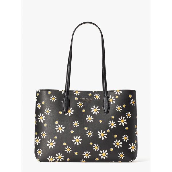 all day daisy dots large tote