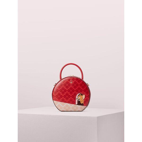kate spade new york x tom & jerry canteen bag