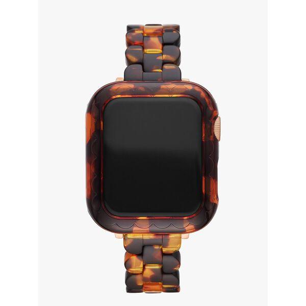 tortoiseshell acetate 38/40mm cover for apple watch®
