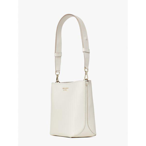 river medium bucket bag, parchment multi, hi-res