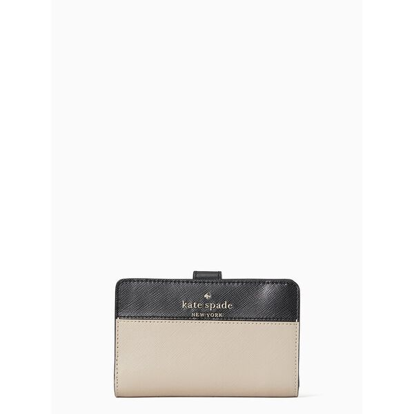 staci colorblock medium compact bifold wallet