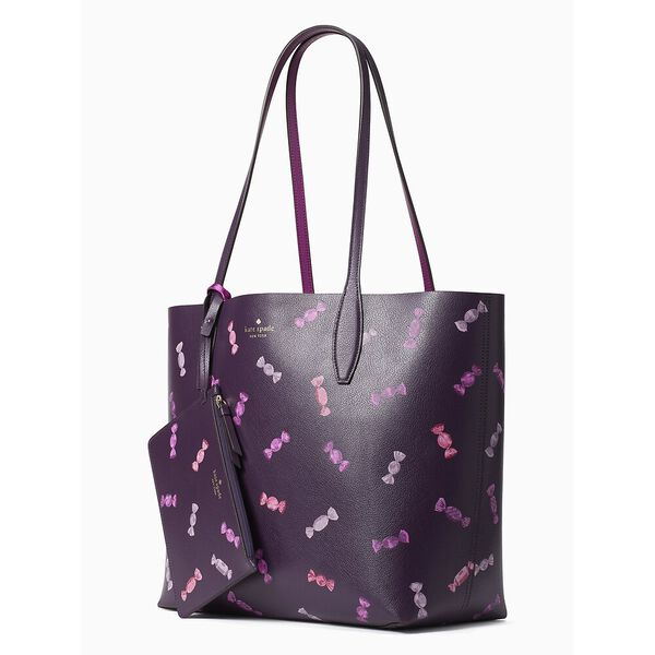 candy shop large reversible tote, multi, hi-res
