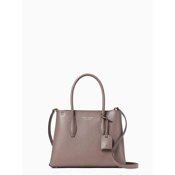 eva small top zip satchel, dusk cityscape, hi-res