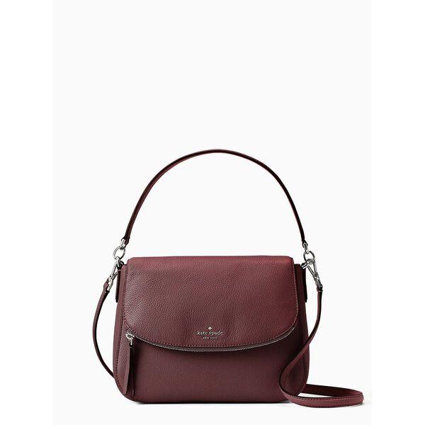 jackson medium flap shoulder bag