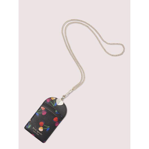 spencer cherries lanyard, BLACK MULTI, hi-res