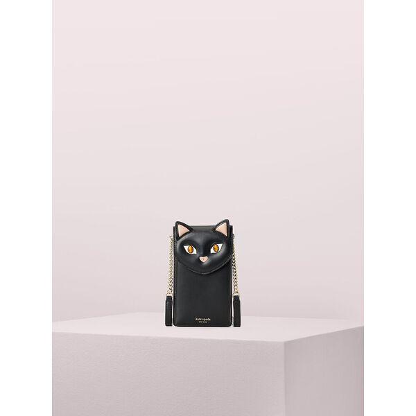 meow cat north south flip phone crossbody