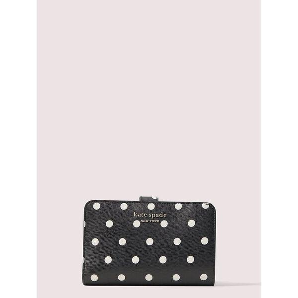 spencer cabana dot compact wallet