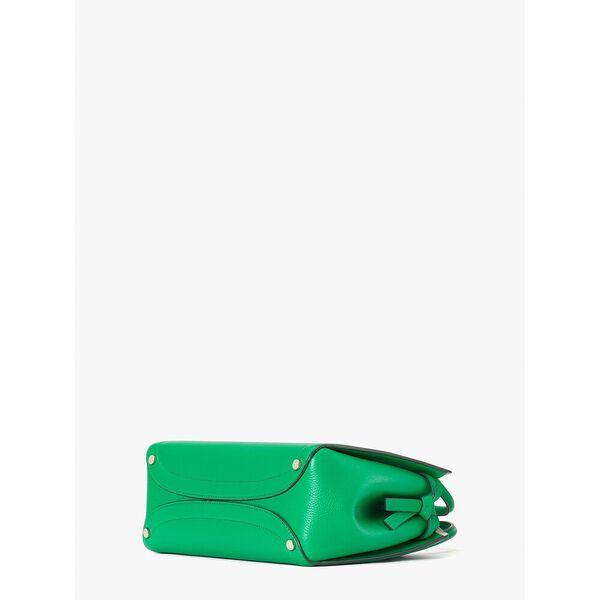 knott medium satchel, spring bloom, hi-res