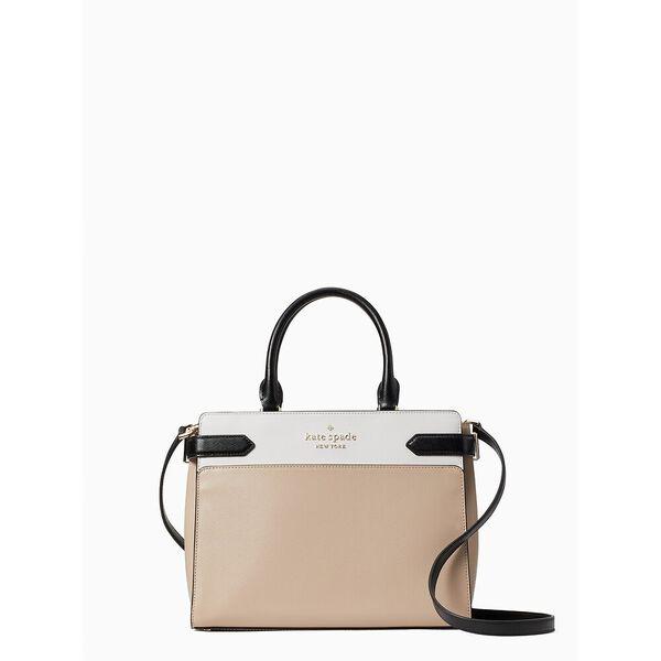 staci colorblock medium satchel