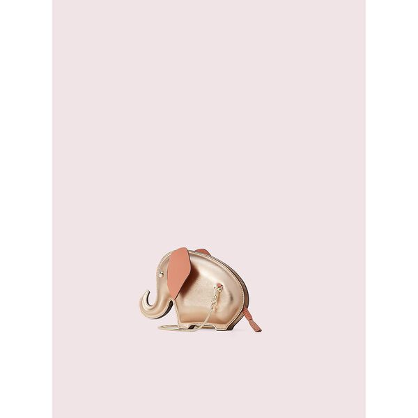 tiny elephant crossbody, pink champagne, hi-res