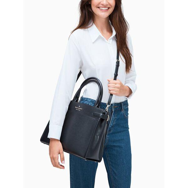 staci large satchel, black, hi-res