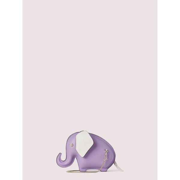 tiny elephant crossbody, iris bloom, hi-res