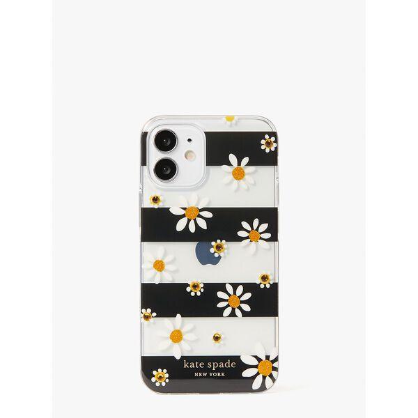 jeweled daisy dots iphone 12 mini case, multi, hi-res