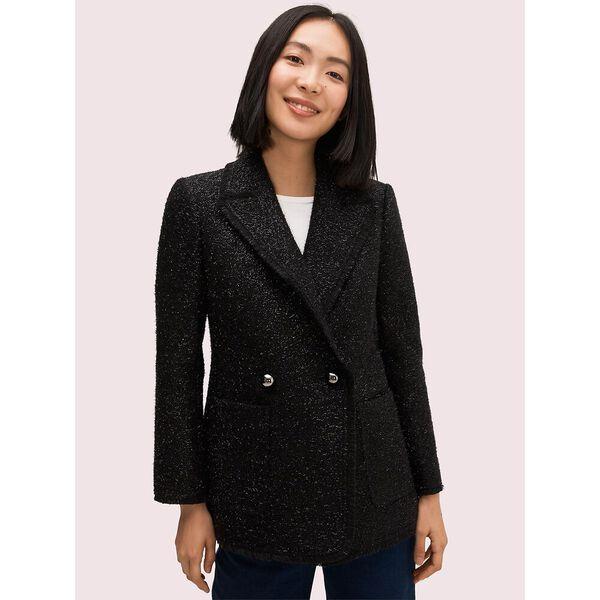 tinsel tweed blazer