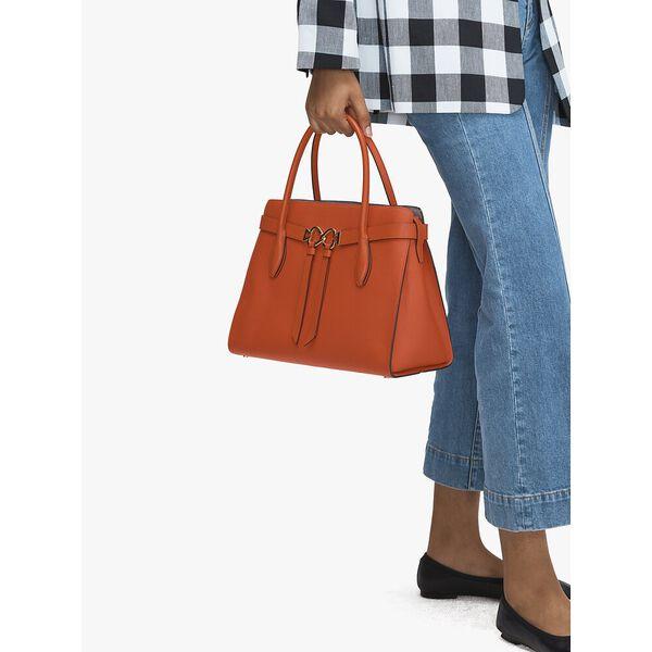 toujours large satchel, LAVA RED, hi-res