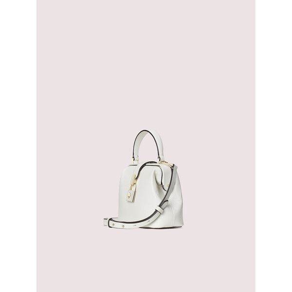 remedy small top-handle bag, optic white, hi-res