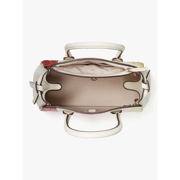 knott stripe mini satchel, multi, hi-res