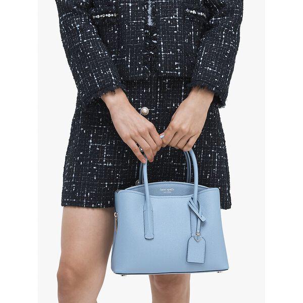 margaux medium satchel, HORIZON BLUE, hi-res