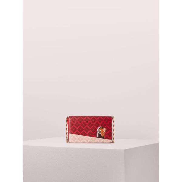 kate spade new york x tom & jerry chain wallet