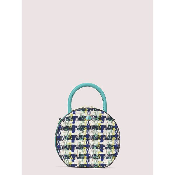 andi tweed mini chain canteen bag