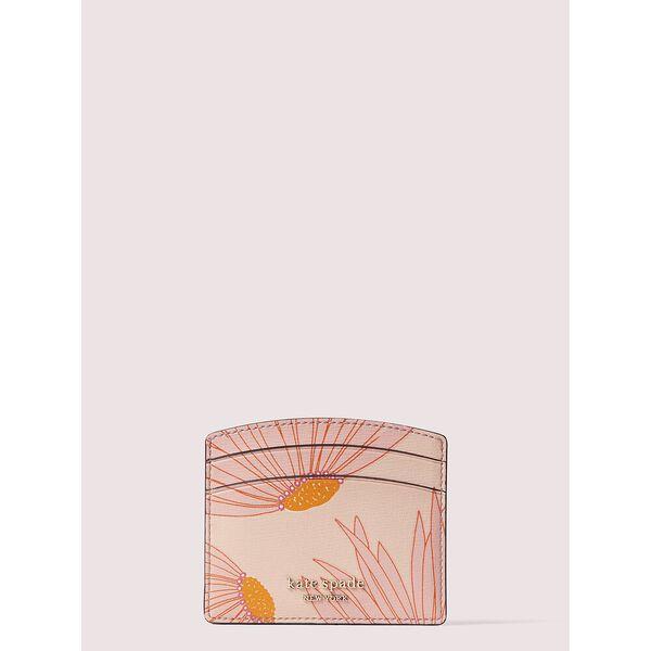 spencer falling flower cardholder, pink multi, hi-res