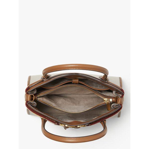 toujours canvas medium satchel, NATURAL, hi-res