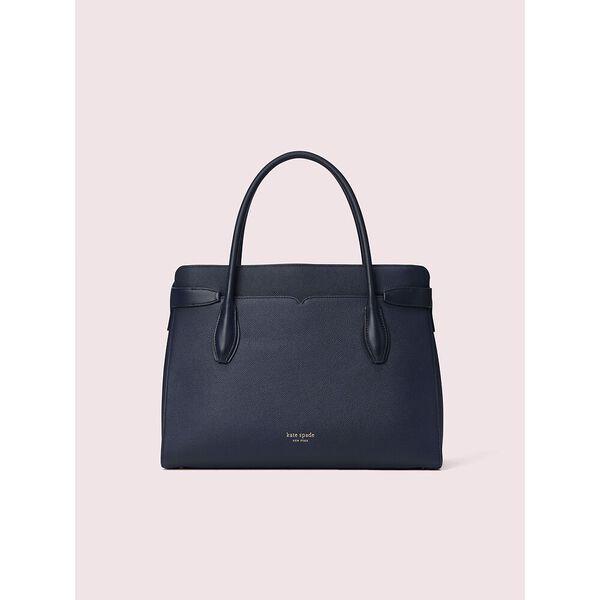 toujour large satchel, blazer blue, hi-res