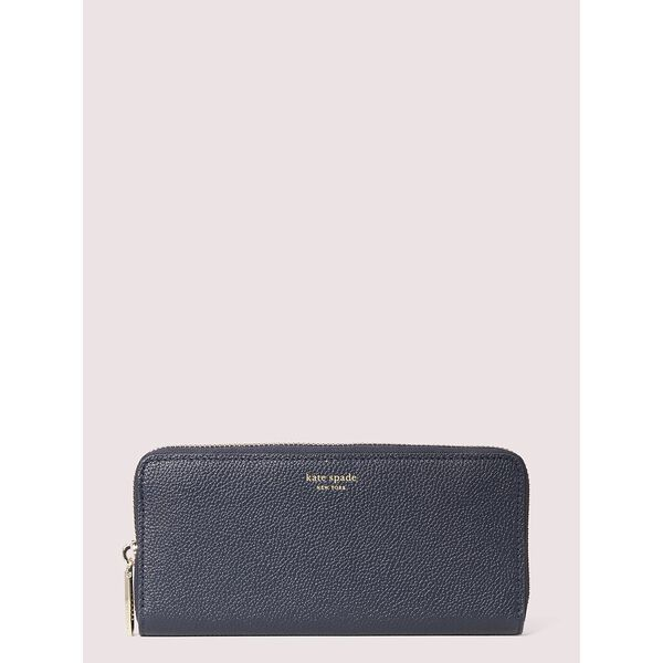 margaux slim continental wallet, blazer blue, hi-res