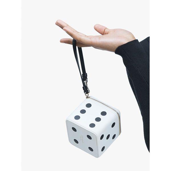 roll 3d dice wristlet, PARCHMENT MULTI, hi-res
